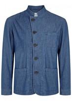 Oliver Spencer Artrist Blue Cotton Jacket