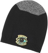 Kenzo Signature Color Block Wool Eye Beanie