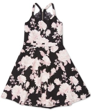Speechless Big Girls Floral Dress