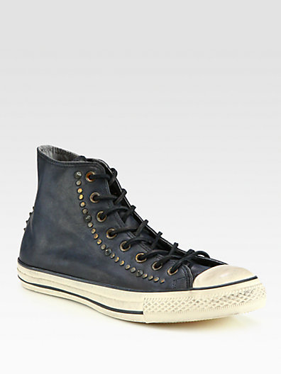 Converse by John Varvatos Chuck Taylor All Star Studded Leather High-Top Sneaker