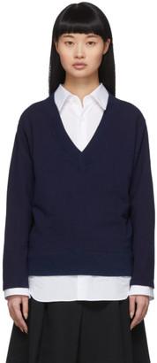 Blue Blue Japan Indigo V-Neck Pullover