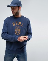 Denim & Supply By Ralph Lauren Denim & Supply Ralph Lauren Crew Neck Sweatshirt With Crest Logo