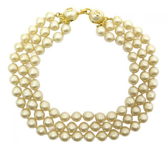 Chanel Ecru Pearls Necklaces