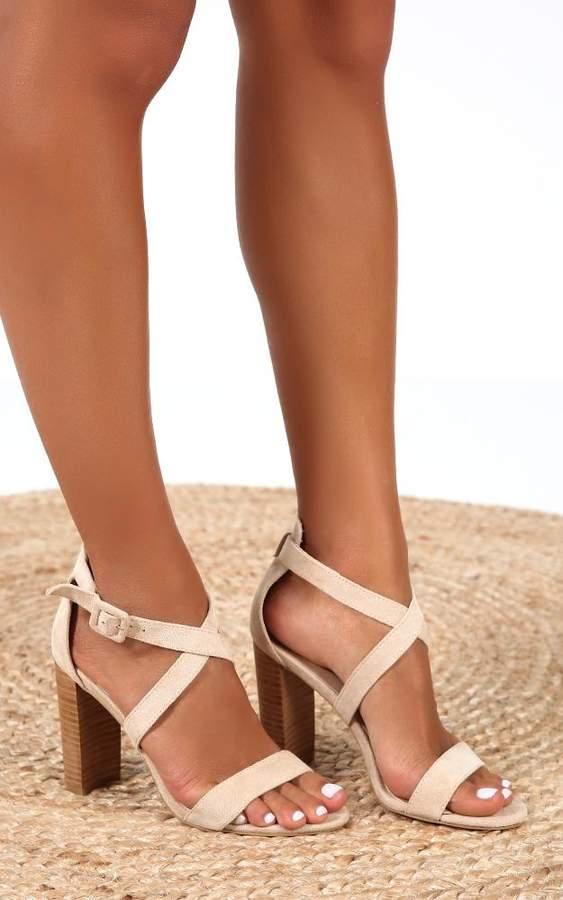 c38bcd46c8f x Billini - Jaxon heels in nude micro - 5 X