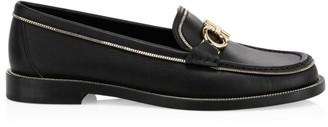 Salvatore Ferragamo Rolo Lux Leather Loafers