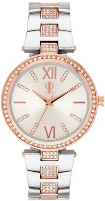 JLO by Jennifer Lopez Women's Crystal Two Tone Watch