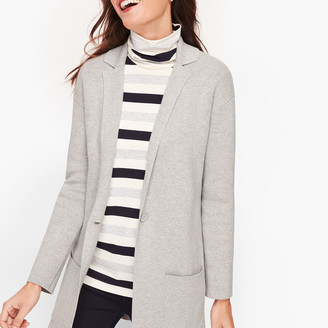 Talbots Patch Pocket Sweater Blazer