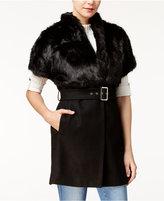 GUESS Cordelia Faux-Fur-Collar Jacket