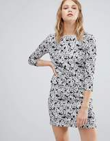 Warehouse Daisy Print Mini Dress