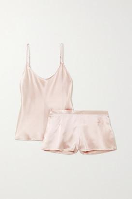 La Perla Silk-satin Pajama Set - Pink