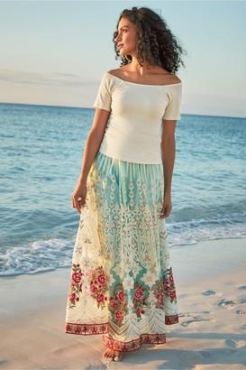 Soft Surroundings Women Analisa Skirt