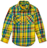 Ralph Lauren Plaid Twill Shirt, Toddler Boys (2T-5T) & Little Boys (2-7)