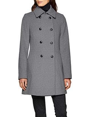 Daniel Hechter Women's Wool Coat (Grey Melange 930)