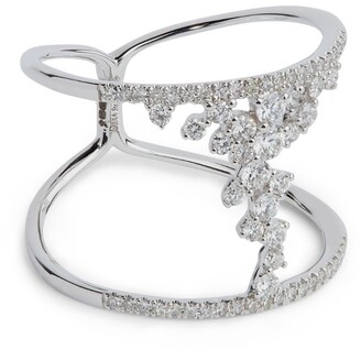 Djula White Gold and Diamond Fairy Tale Ring