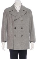 Jil Sander Double-Breasted Wool Coat