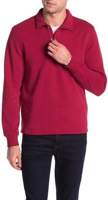Joe Fresh Solid Fleece Henley Pullover