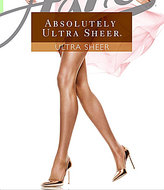 Hanes Absolutely Ultra Sheer Control Top Reinforced-Toe Pantyhose
