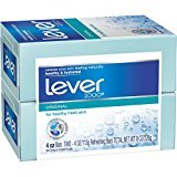 (PACK OF 72 BARS) Lever 2000 ORIGINAL SCENT Bar Soap for Men & Women. NON-DRYING! Great for Healthy Feeling Hands, Face & Body! (72 Bars, 4.0oz Each Bar)