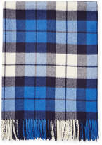 A & R Cashmere Alpaca Blend Plaid Throw