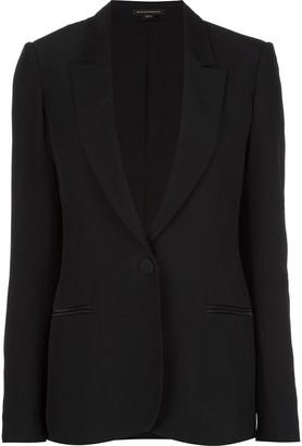 Kiki de Montparnasse silk lined tuxedo blazer