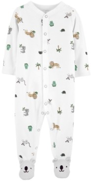 Carter's Baby Boys or Girls 1-Pc. Koala-Print Cotton Coverall