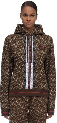 Burberry Tb Monogram Jersey Sweatshirt Hoodie