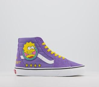 Vans Sk8 Hi Trainers The Simpsons Lisa 4 President