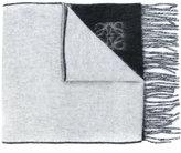 Loewe two-tone tassel scarf
