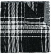 McQ by Alexander McQueen checked scarf