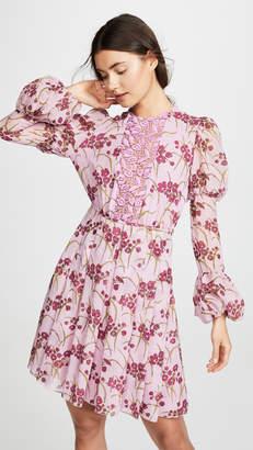 Giambattista Valli Puff Sleeve Floral Dress