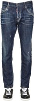 DSQUARED2 16cm Skater Fit Stretch Denim Jeans