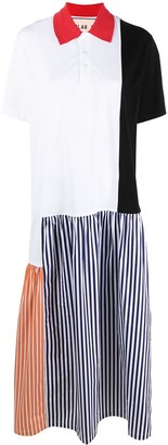 Plan C Colour-Block Shirt Dress