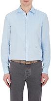 Massimo Alba Men's Genova Cotton-Linen Shirt