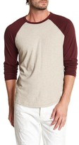 Lucky Brand Grey Label Baseball Shirt