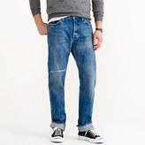 Chimala Cone Denim selvedge jean in light repair wash