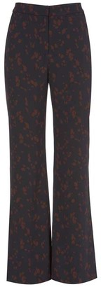 Mint Velvet Erin Print Bootleg Trousers
