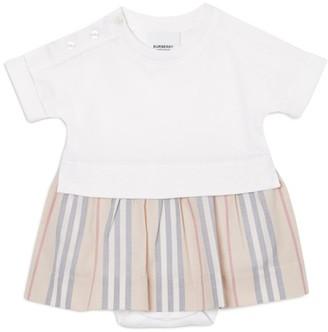 Burberry Kids Icon Stripe Skirt Bodysuit