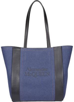 Alexander McQueen Signature Small Shopper Tote Bag