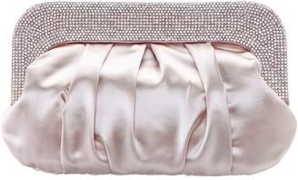 Nina Handbags Crystal Collar Soft Clutch - Carina