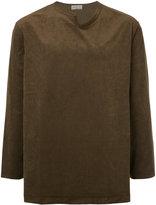 Yohji Yamamoto shirt with notched neckline
