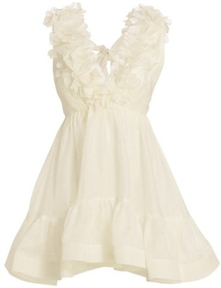 Zimmermann Lovestruck Garland Mini Dress