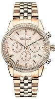 Ingersoll Women's The Gem Quartz Watch with Rose Gold Dial and Rose Gold Stainless Steel Bracelet I03904