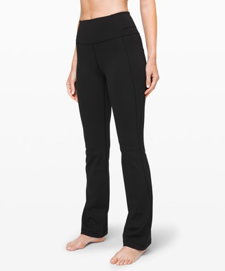 """Lululemon Groove Pant Bootcut 32"""" *Online Only Full-On Luxtreme"""