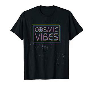 Marvel Captain Cosmic Vibes Stars in Space T-Shirt