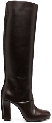 Lemaire Heeled Leather Boots