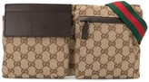 Gucci Pre Owned Shelly Line GG Pattern belt bag