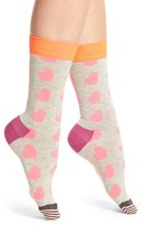 Happy Socks Women's Diagonal Hearts Socks