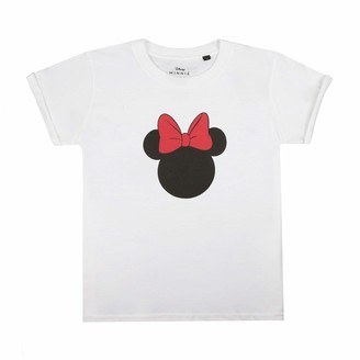 Disney Girl's Minnie Mouse Silhouette T-Shirt