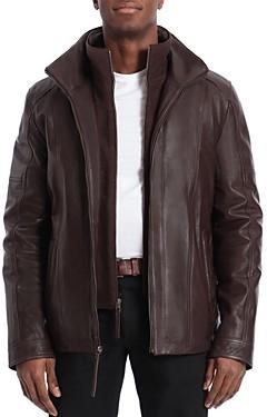 Bagatelle Regular Fit Layered-Look Jacket