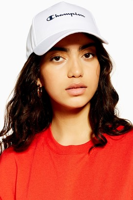 Champion Womens White Unisex Cap By White